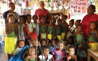 Apostle Lodewick visits Solomon Islands